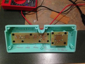 Early prototype again to show PCB mounted buttons.