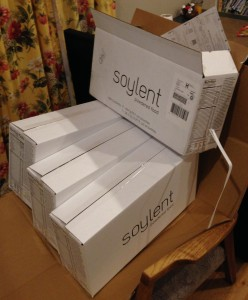 This is what 4 weeks of soylent looks like!